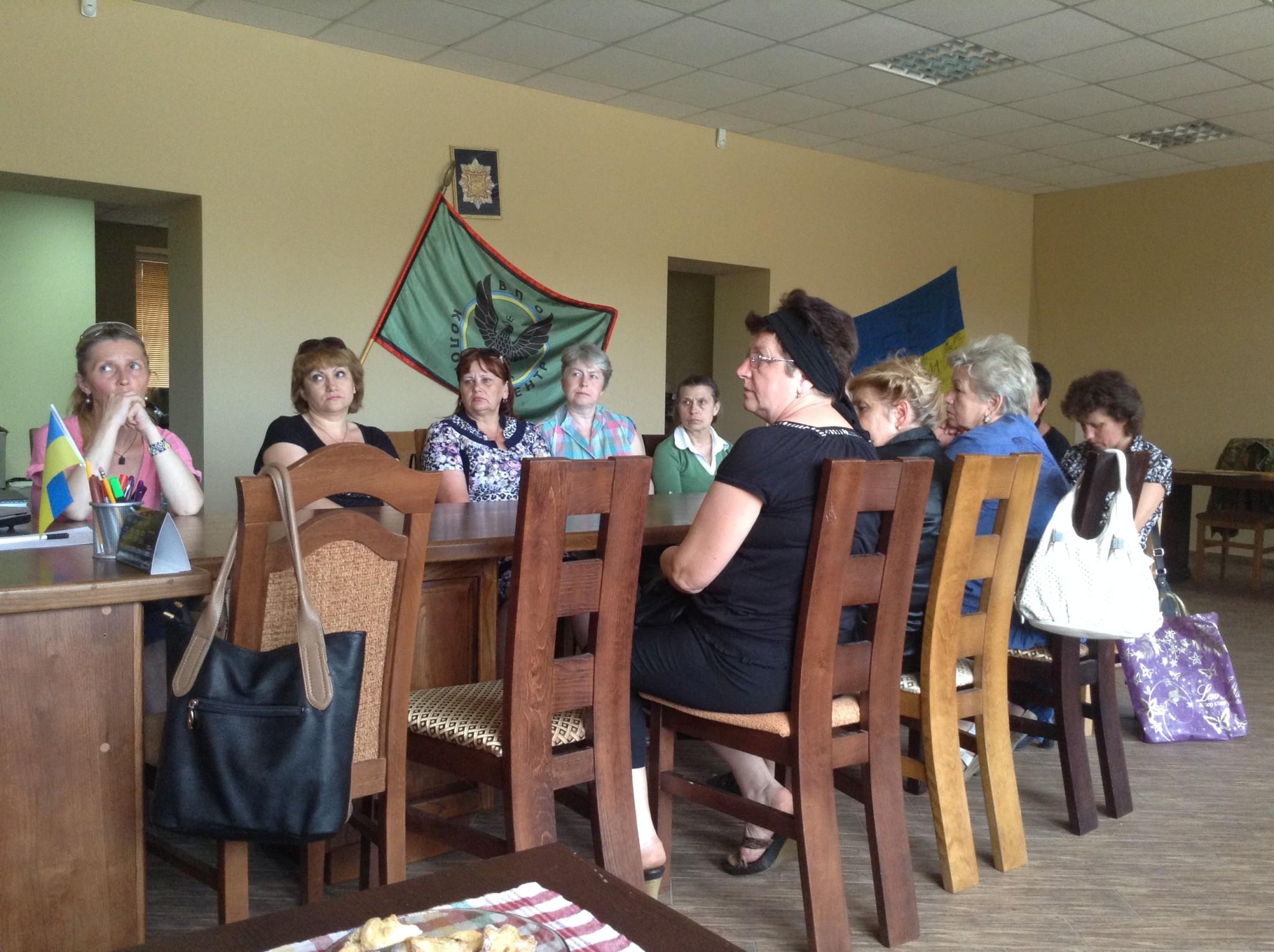 Матері та дружини загиблих воїнів об'єдналися у Коломиї