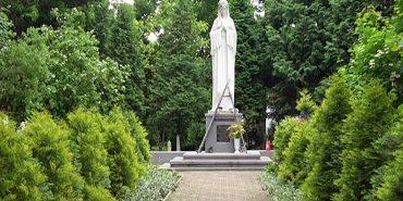 У Коломиї відреставрували статую Божої Матері