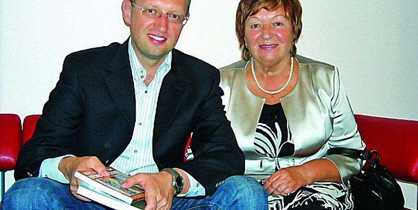 Мати Арсенія Яценюка