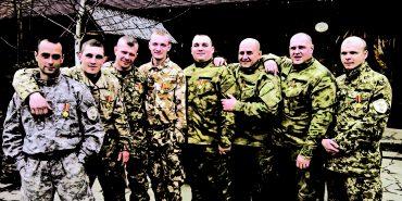 Коломияни з 128-ї бригади отримали нагороди від Патріарха Філарета