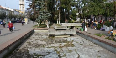Чи потрібний Коломиї фонтан?