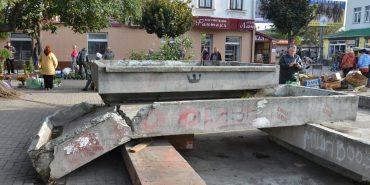 У Коломиї хочуть відновити зруйнований фонтан