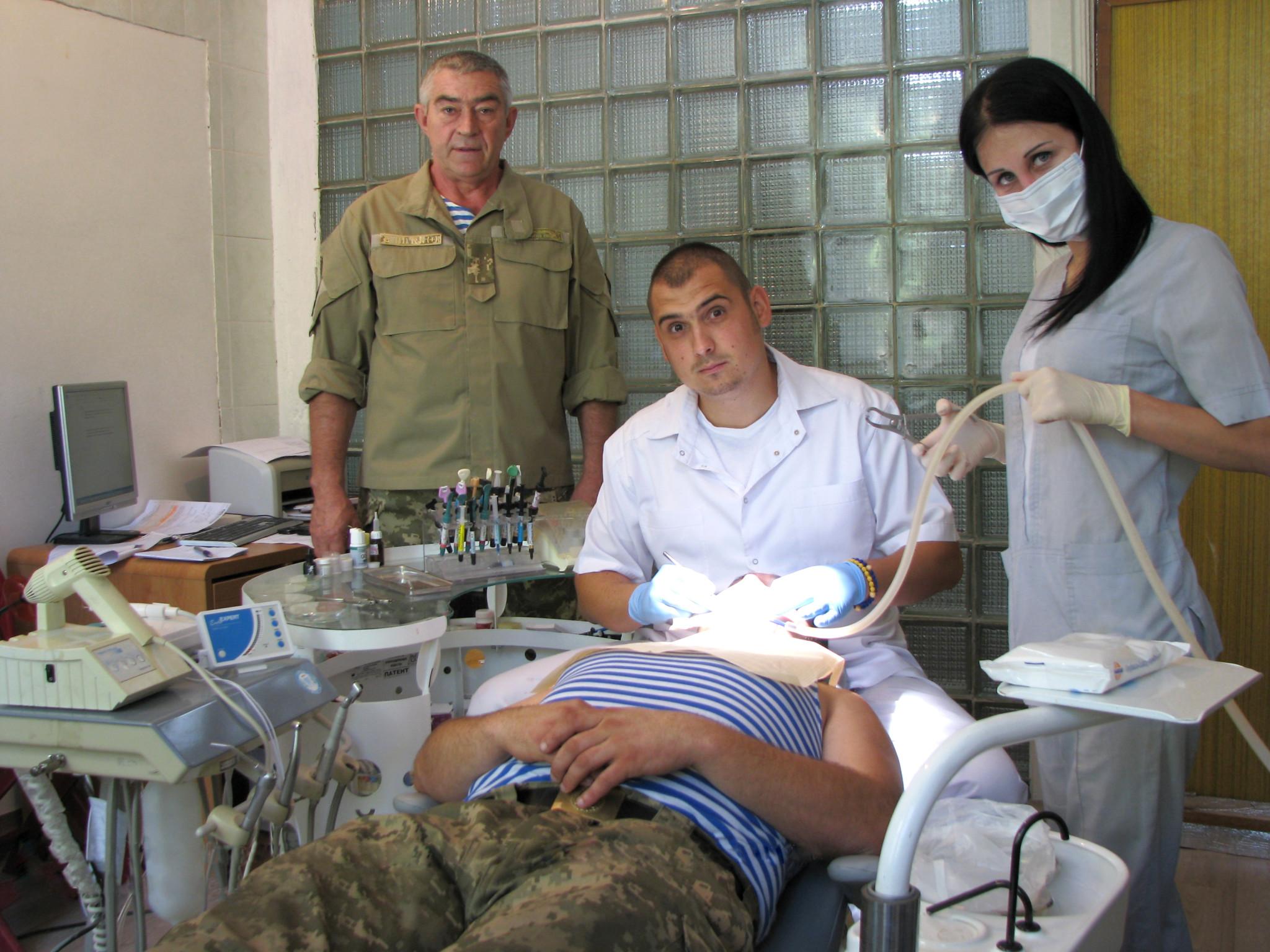 коломийські медики в зоні АТО