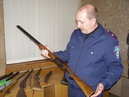 Коломиянин здав зброю в міліцію