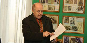 На запрошення Любомира Глушкова Коломию відвідав відомий історик Володимир Сергійчук. ФОТО