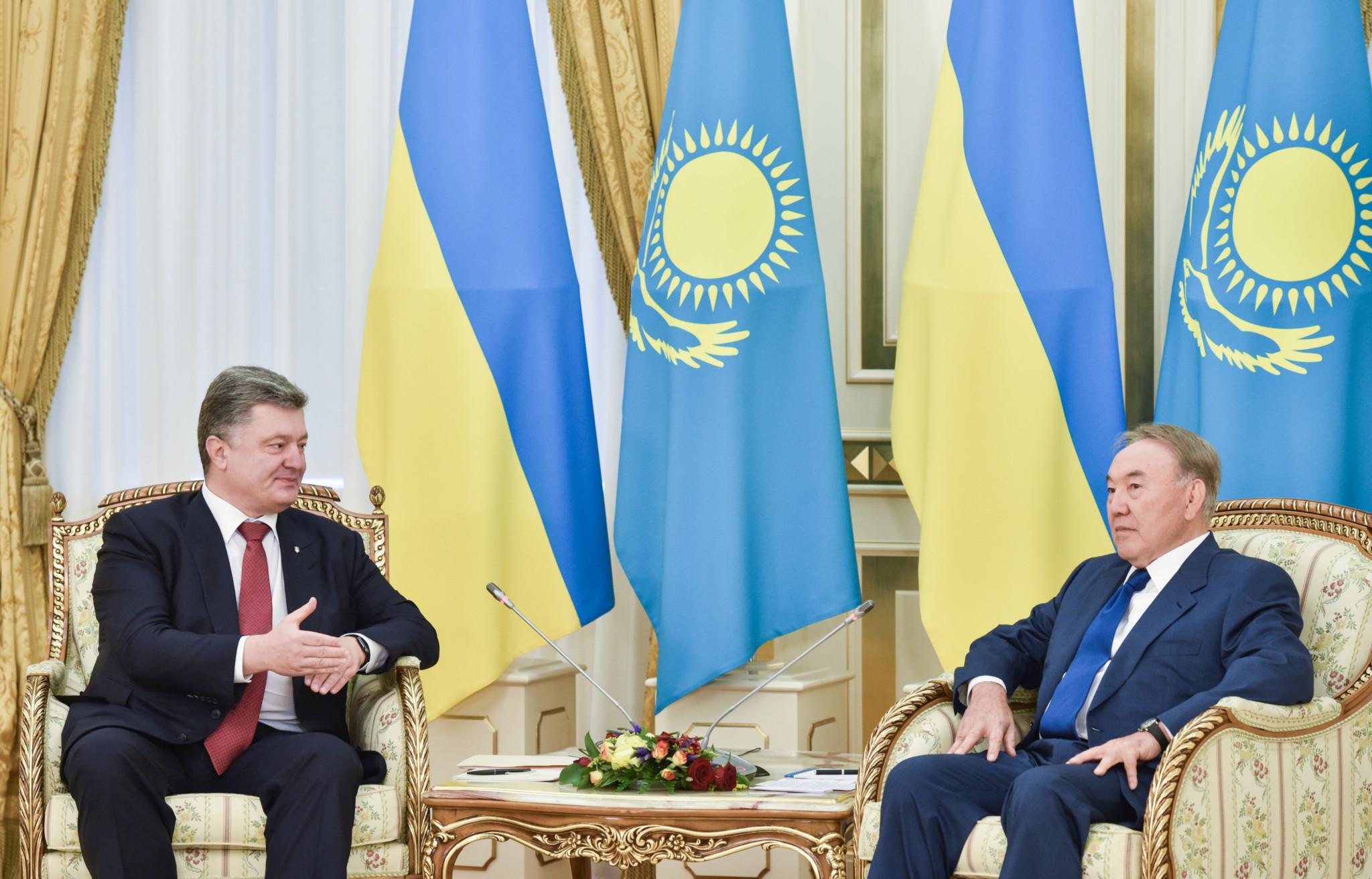 Співпраця України з Казахстаном