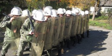 Пенітенціарії Коломиї вчились боротись з масовою непокорою в'язнів