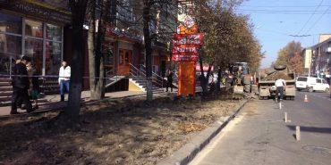 У Івано-Франківську розпочали будівництво велодоріжки
