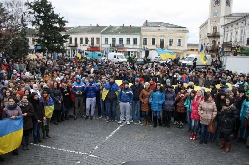 Коломия Євромайдан студенти
