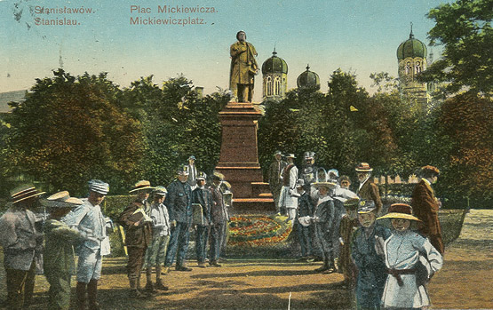 пам'ятник Адаму Міцкевичу, Івано-Франківськ
