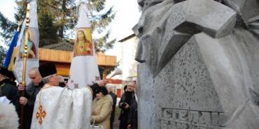 Пам'ятник Степану Бандері відкрили у Снятині