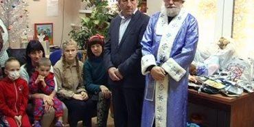 Миколай прийшов до дітей, які лікуються в онкологічному відділі обласної лікарні. ВІДЕО