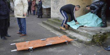 Тіло професора Грабовецького пролежало на вулиці близько 3-ох годин. ФОТО