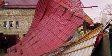 На Коломийщині через шторм у дитячому садочку зірвало дах
