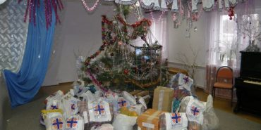 """БФ """"Карітас"""" передав дітям подарунки до Дня св. Миколая загальною вартістю понад 1 мільйон гривень"""