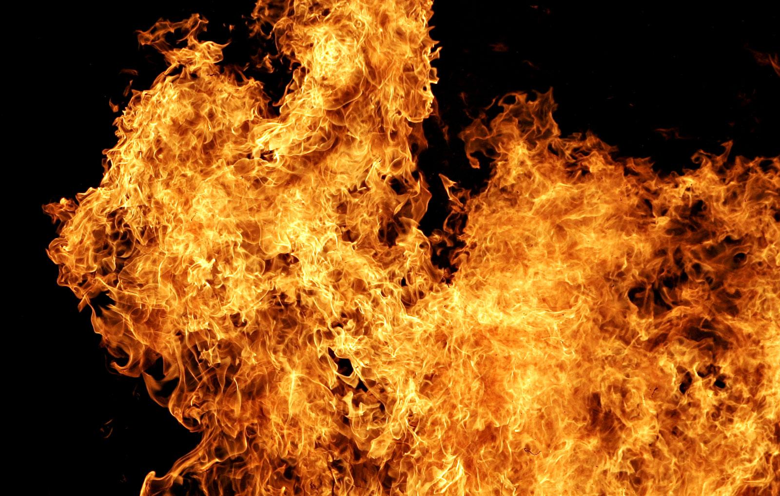 Пожежі на Прикарпатті
