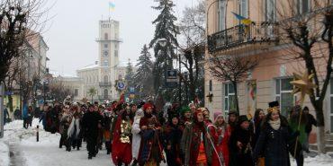 Фестиваль вертепів відбувся в Коломиї. ФОТО