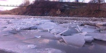 У мережу виклали фотографії льодоходу на Пруті. ФОТО