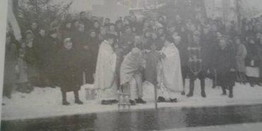 У мережі оприлюднили раритетне фото Водохреща у Калуші 1943 року