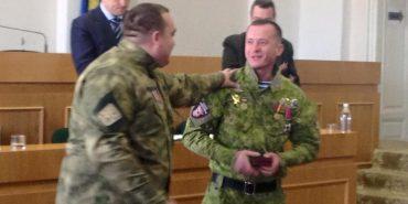 Кіборгу з Коломиї Василю Кузьмину вручили орден Богдана Хмельницького III ступеня
