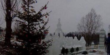 Завтра на Коломийщині відкриють містечко льодових скульптур