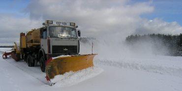 За необхідності на Прикарпатті дороги від снігу прибиратимуть 176 одиниць техніки