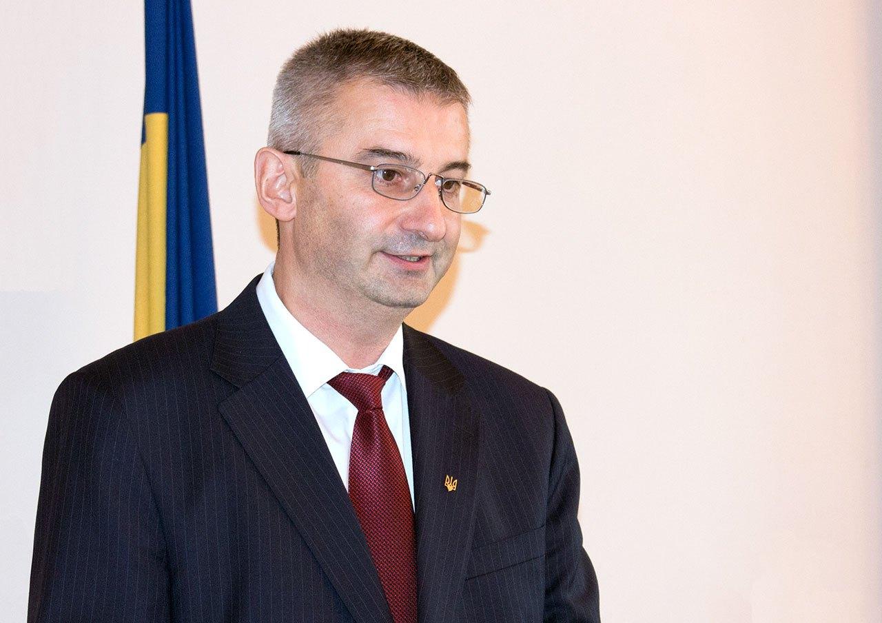 Костянтин Курилишин на презентації свого видання Часопис «Діло»