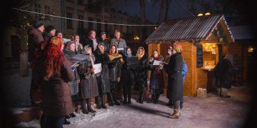 Різдвяний ярмарок, який вперше організували в Коломиї, став епіцентром святкувань. ФОТО