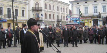 У Коломиї спільною молитвою і пам'ятною ходою вшанували Героїв Небесної сотні. ФОТО
