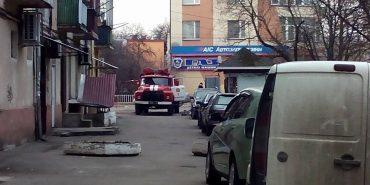 В Івано-Франківську рятувальники ліквідували загоряння в житловому будинку