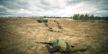 Cвітлини бойових тренувань 10-ої гірсько-штурмової бригади. ФОТО