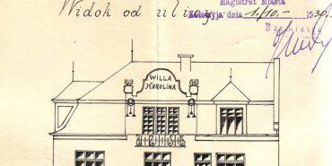 Знайдено теку з кресленнями коломийських будинків 1910-х 1930-х років. ФОТО