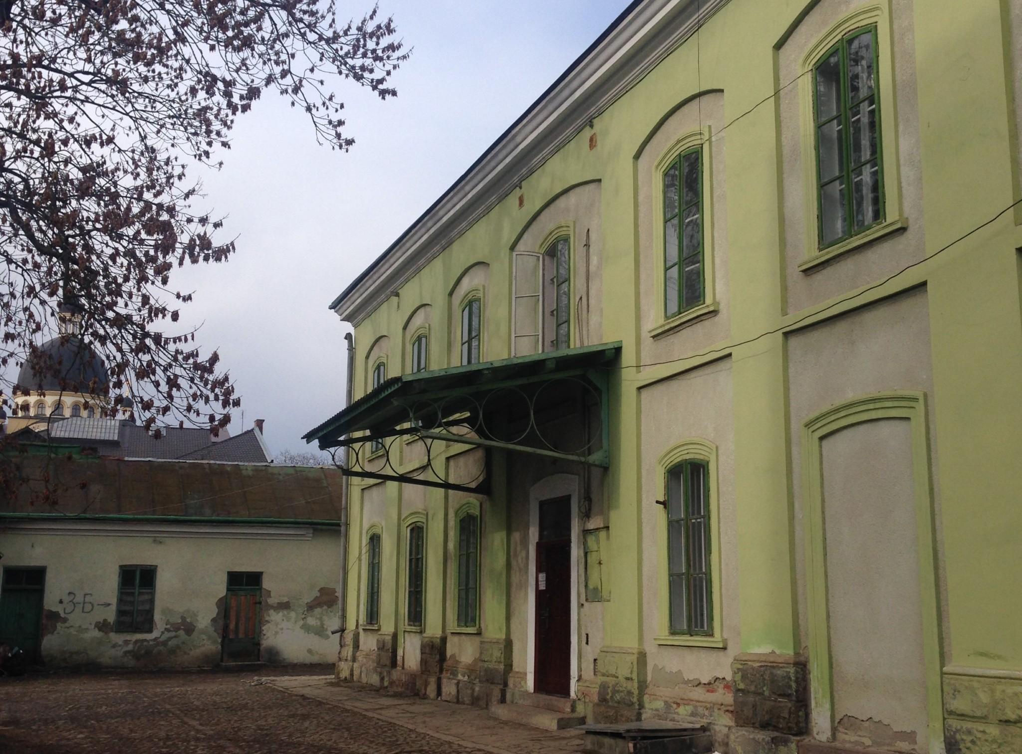 Будівля, в якій трапилася трагедія