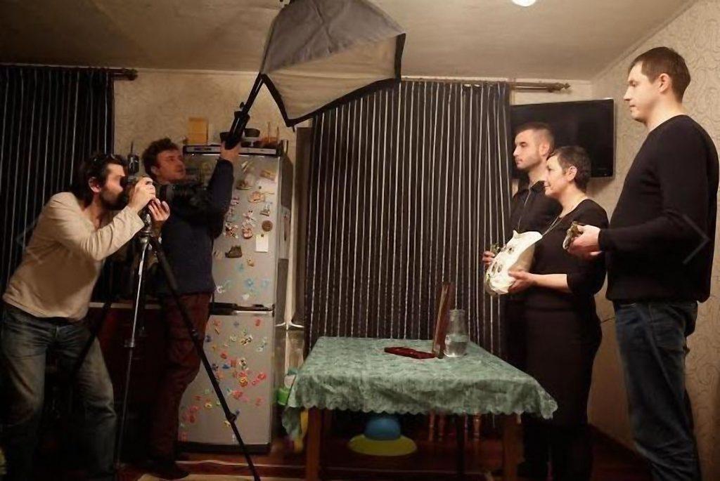 Зйомки родини загиблого військового Романа ФУРИКА з Коломиї