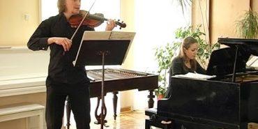 """Академічний музичний дует """"Duo sonoro"""" виступав у Коломиї. ВІДЕО"""