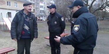 Новопризначені поліцейські Івано-Франківська воюють з місцевими пияками. ВІДЕО