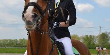 Коломиянка Ярина Запухла завоювала одразу три медалі на чемпіонаті з конкуру. ФОТО