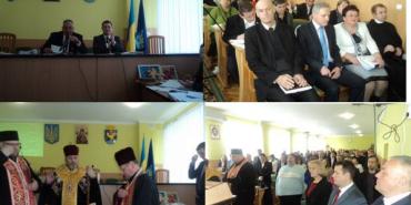 На сесії районної ради у Коломиї провели благодійний аукціон на підтримку поранених воїнів АТО