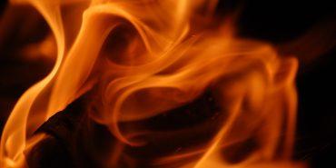 На Прикарпатті загорівся автобус