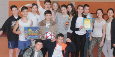 Коломийський НВК №9 став переможцем міської спартакіади. ФОТО