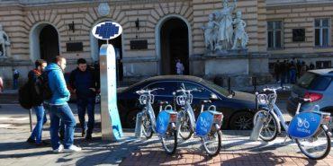 У Львові запустили міський прокат велосипедів, як у Парижі та Відні