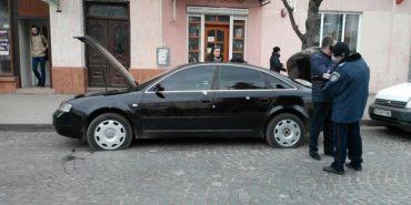 Знайшовся власник обстріляного в Коломиї автомобіля