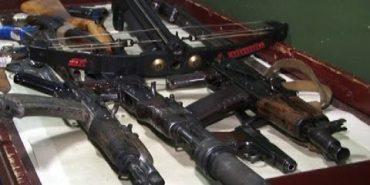 На Прикарпатті триває місячник добровільної здачі зброї. ВІДЕО