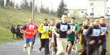 Коломийські рятувальники зайняли перше місце у змаганнях з легкоатлетичного кросу. ВІДЕО