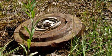 На Городенківщині під час проведення водомережі виявлено міну