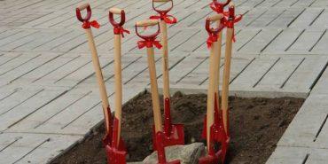 У Галицькому районі заклали перший камінь під будівництво біогазового заводу. ФОТО