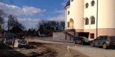 БФ «Покуття» розпочав роботи з облагородження території біля Катедрального собору