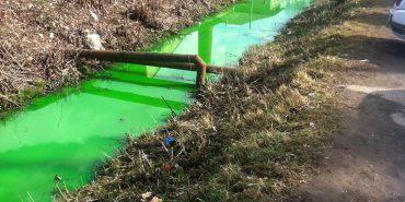 Через військовий препарат коломийська Млинівка стала зеленою