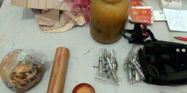 Боєць АТО намагався відправити з Донецької області на Івано-Франківщину бойові гранати у банці меду. ФОТО