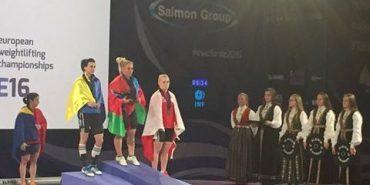 Коломиянка Вероніка Івасюк завоювала медаль на чемпіонаті Європи з важкої атлетики